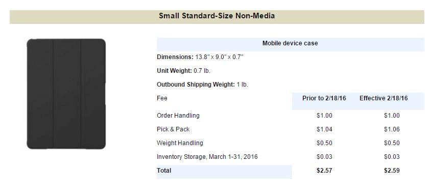 small non-media item