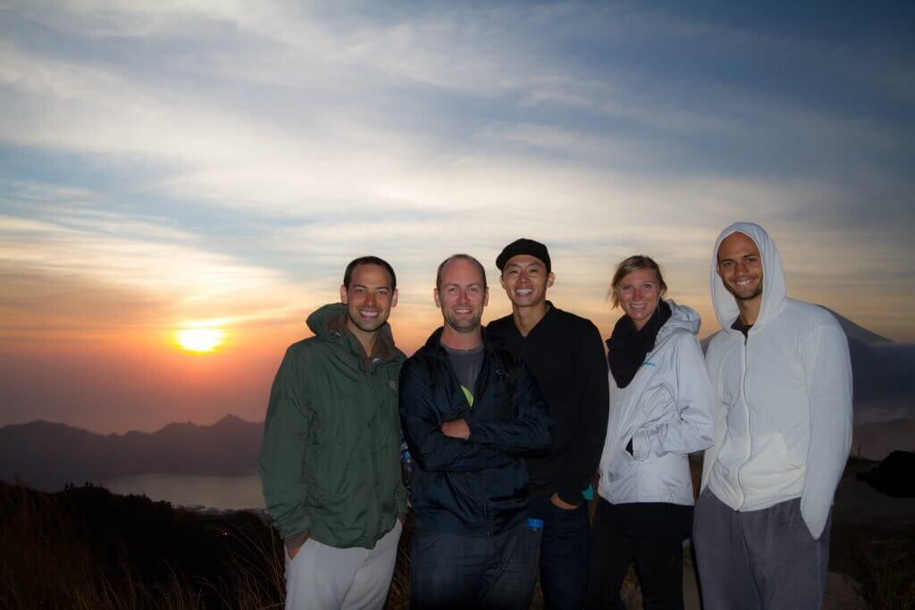 greg and the jungle scout team in bali indonesia