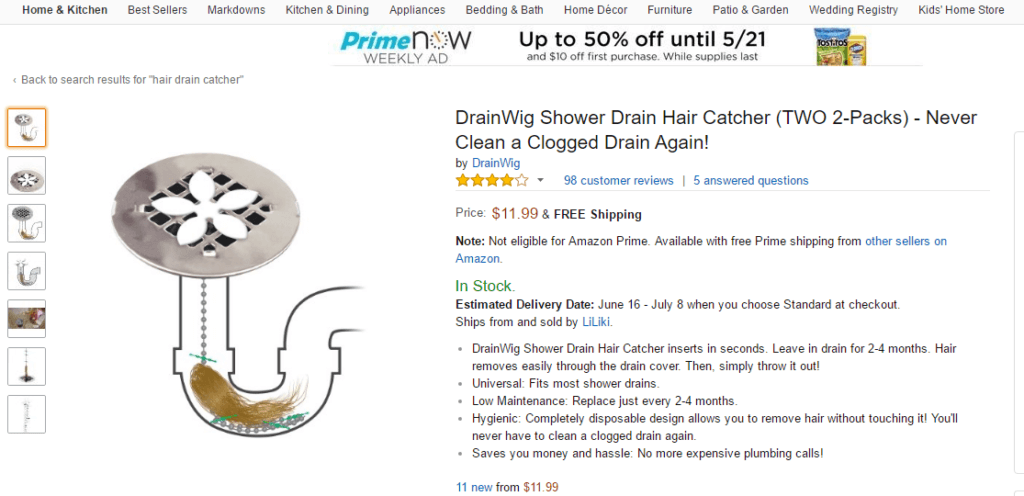 weird_product_on_amazon_-_haird_drain_catcher