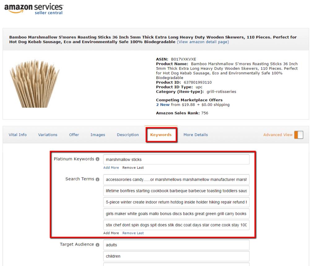 keywords_in_seller_central