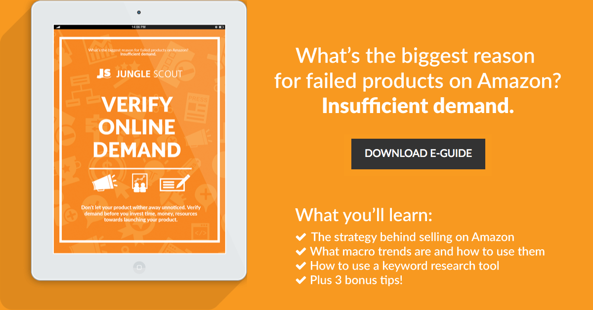 "E-book: ""Verify Demand For Your Product Idea"""