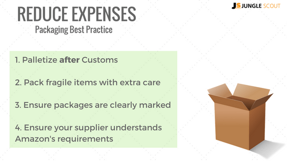 Packaging best practice to reduce expenses
