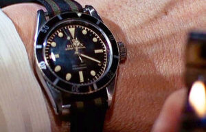 The original Rolex Submariner, modelled by Sean Connery in Goldfinger