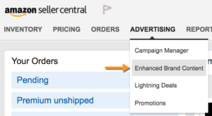 enhanced brand content amazon