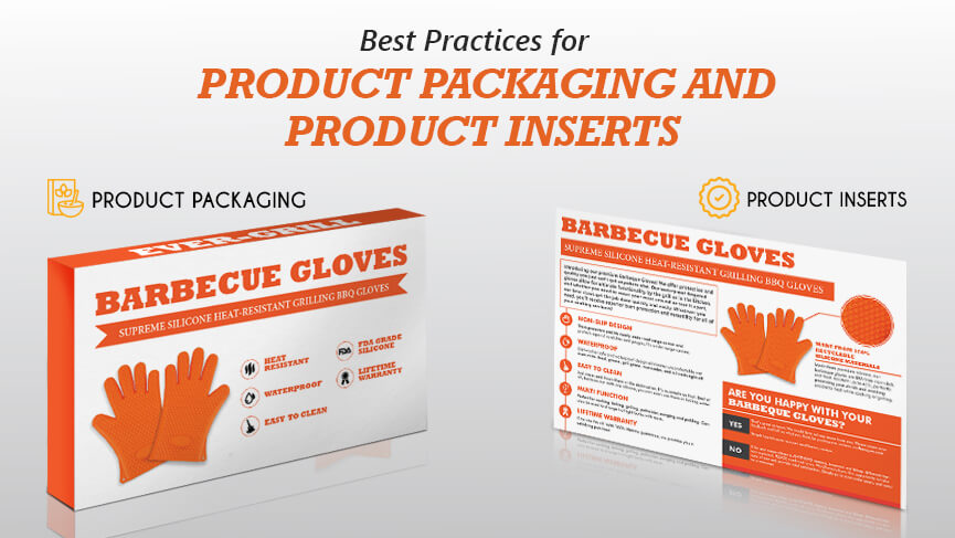 product packaging and product inserts