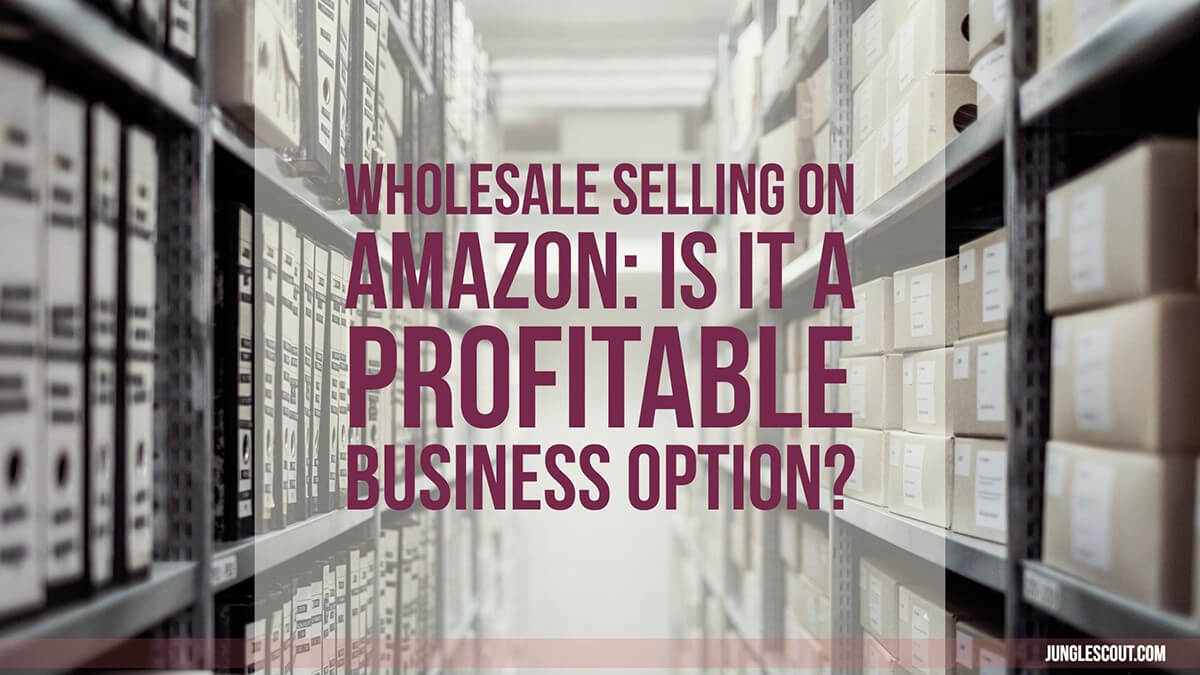 wholesale selling on amazon