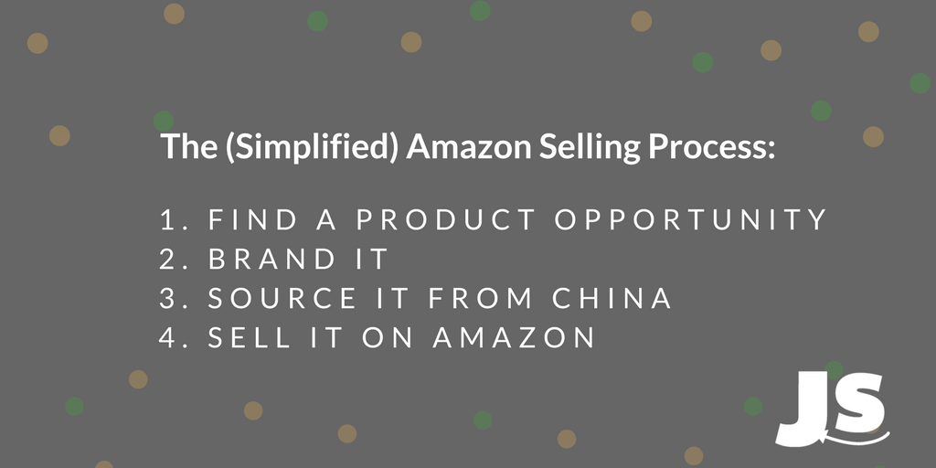simplified steps to selling on amazon