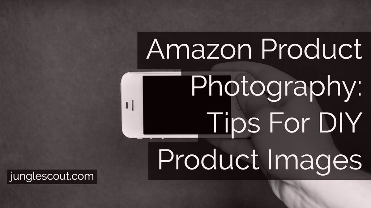 diy amazon product photography