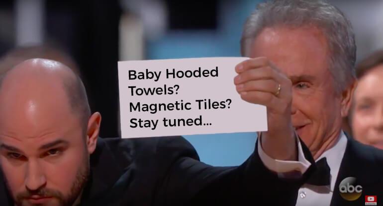 baby hooded towels or magnetic tiles envelope gate