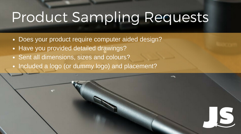 product sampling request considerations