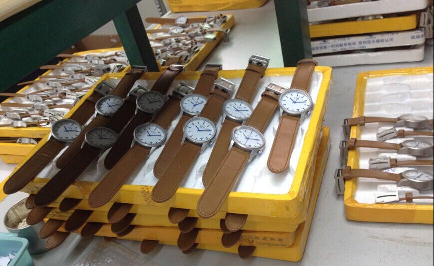 Watches assembled