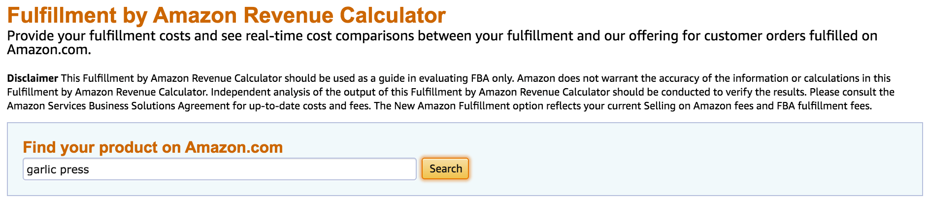 Amazon FBA Profit Calculator : Free Tools | Jungle Scout