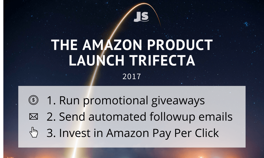 The Amazon Product launch trifecta