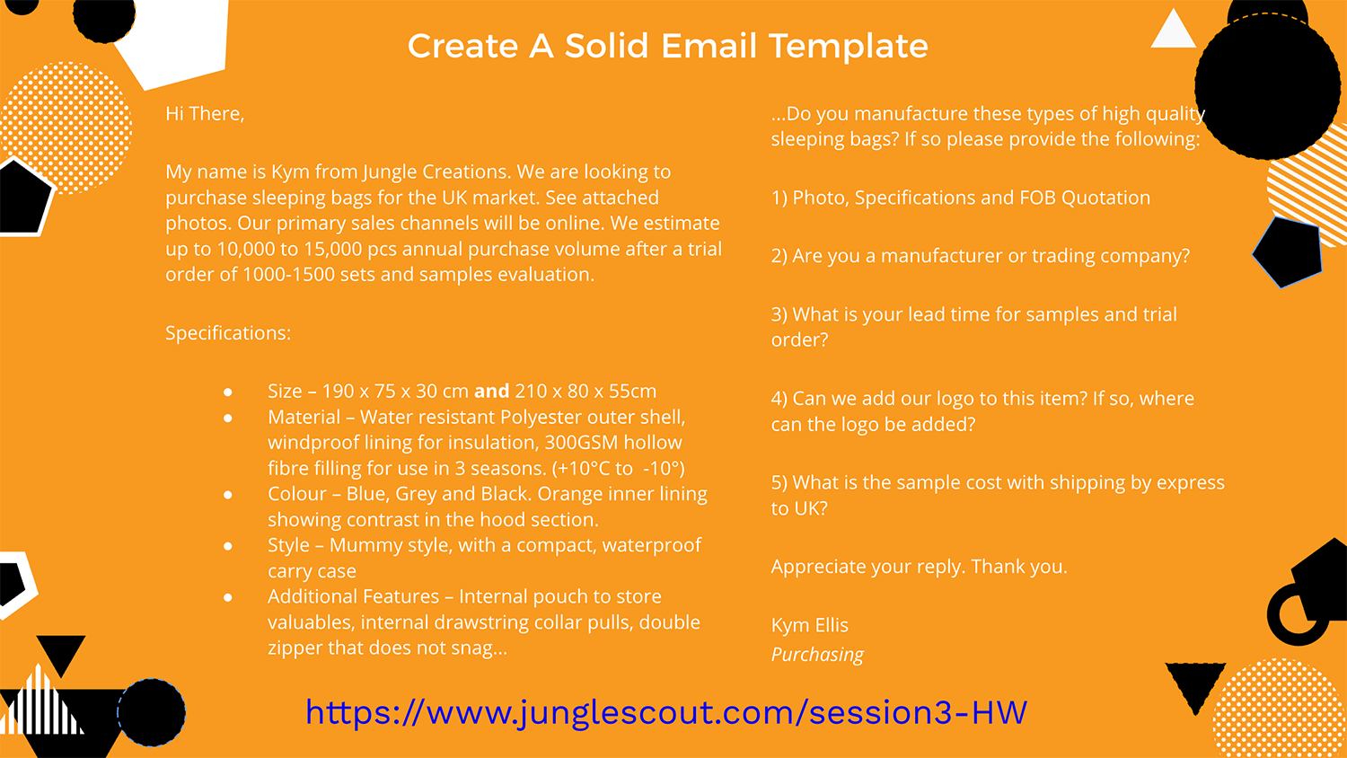 email template for alibaba outreach