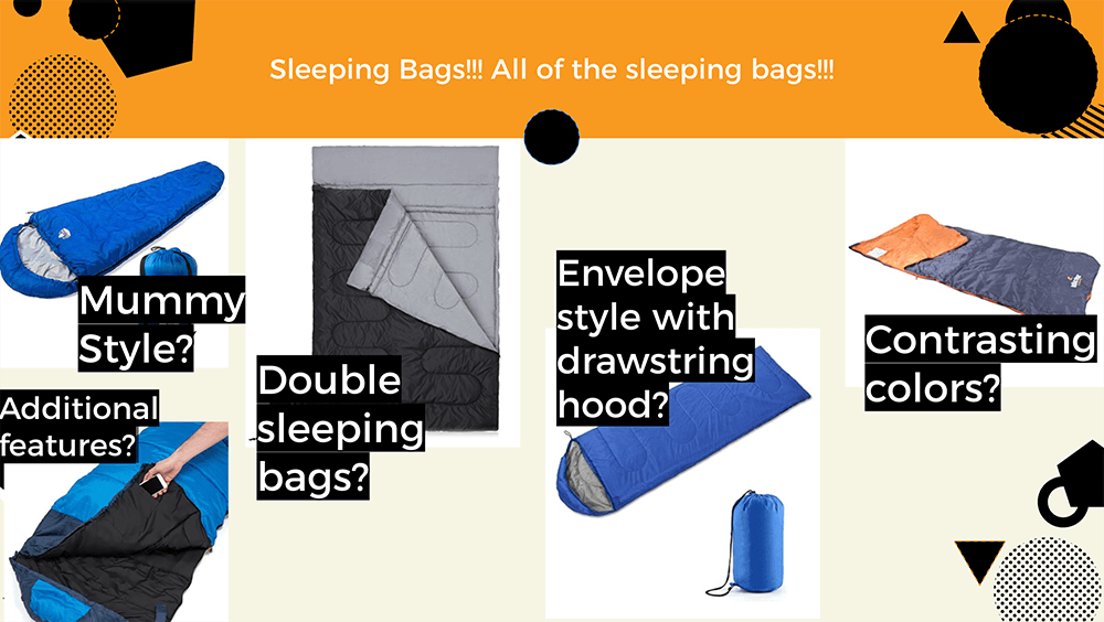 Sleeping Bags Spec