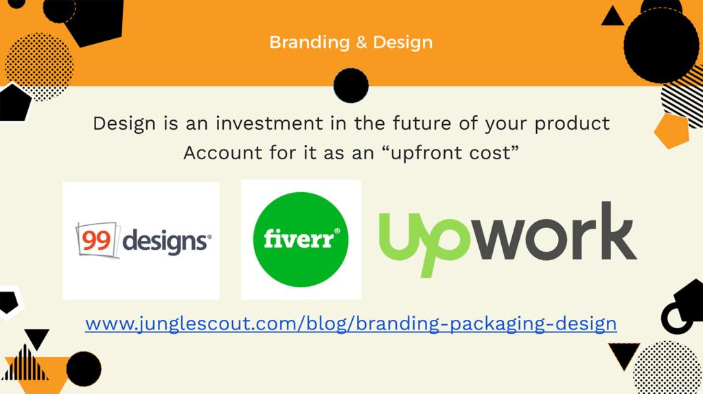 amazon product brand design