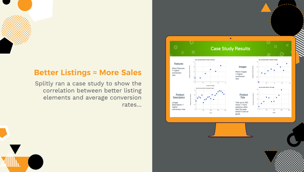 Splitly case study proves correlation between product listing quality and conversion rates