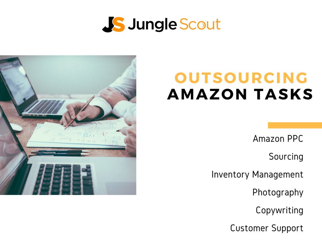 Outsourcing amazon tasks for sellers