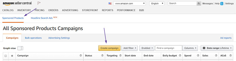 how to create an Amazon PPC ad