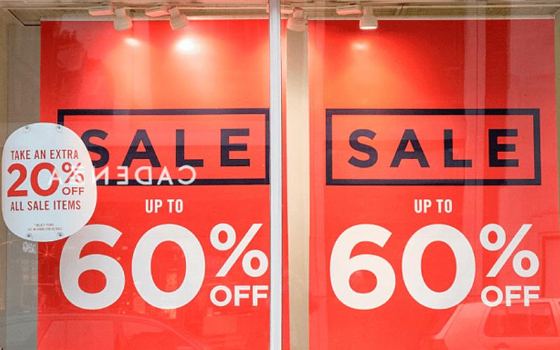 % off sale