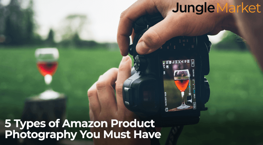 Photographer demonstrating Amazon product photography