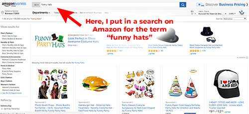 How to find products to sell on Amazon.