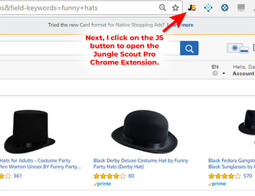 How to find products to sell on Amazon with Jungle Scout