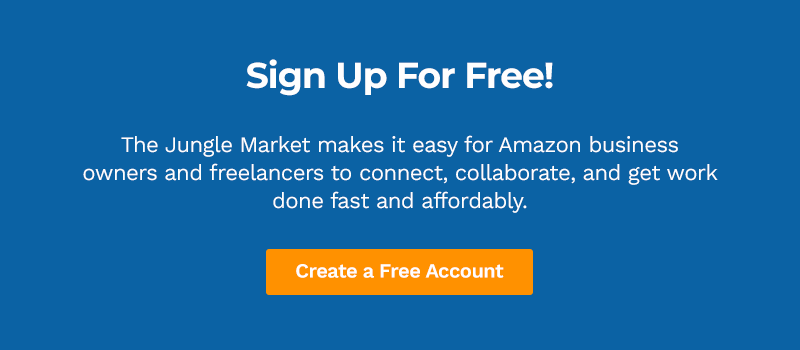 Hire Amazon freelancers on the Jungle Scout Market