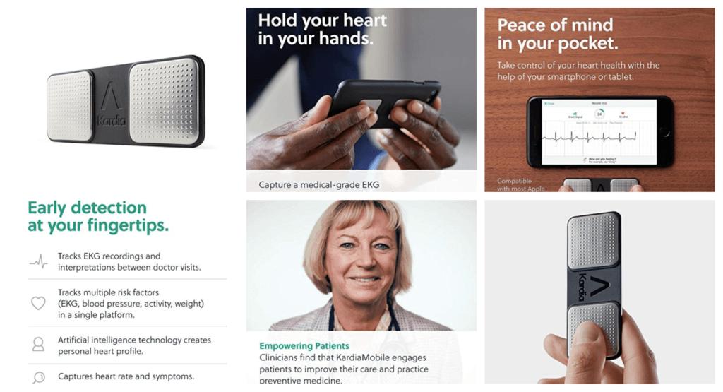 Alivecor® KardiaMobile EKG Monitor