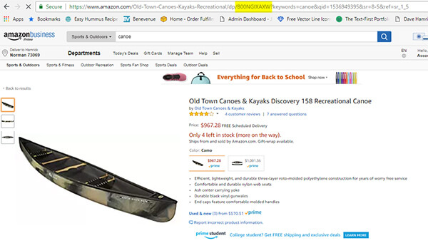 You can find the Amazon ASIN in the URL on the product listing page.