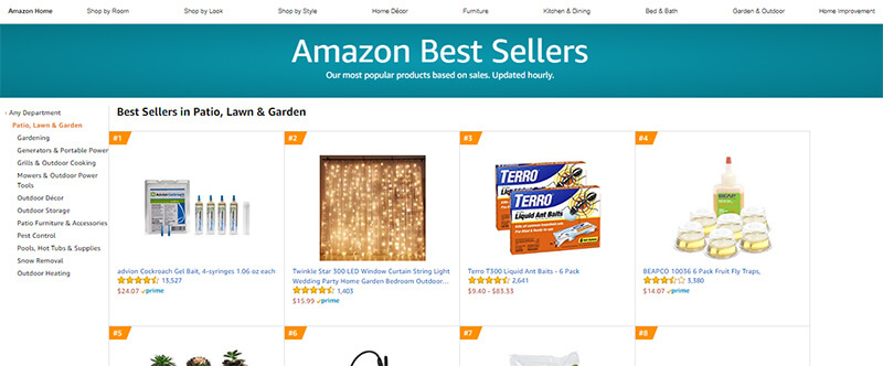 Amazon best sellers