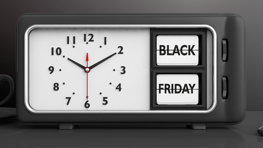 black friday alarm clock