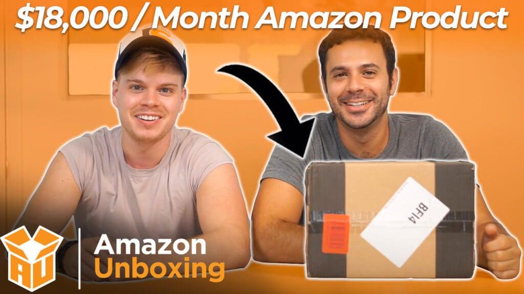 Amazon Unboxing Series hosts