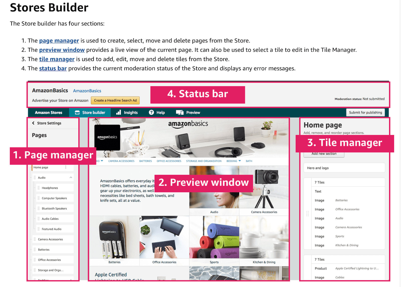 Amazon's Brand Registry storefront builder