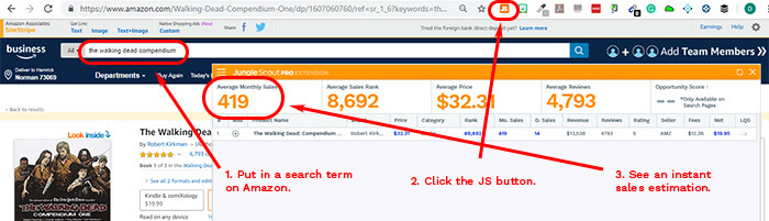 How to Sell on Amazon: Estimating Sales