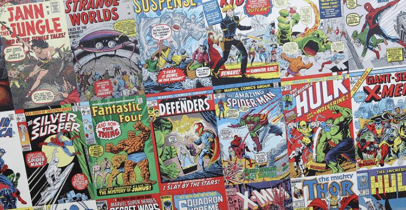 Random comic books