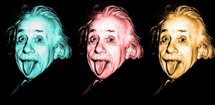 Public Domain Products: image of Albert Einstein