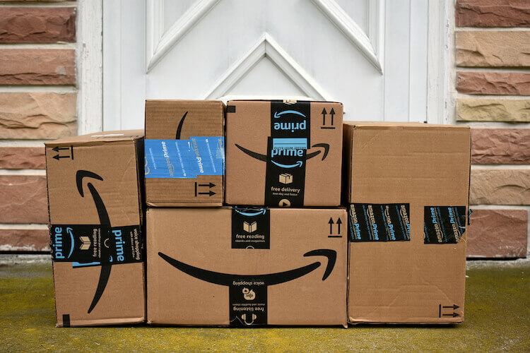 Amazon FBA vs FBM: Amazon packages