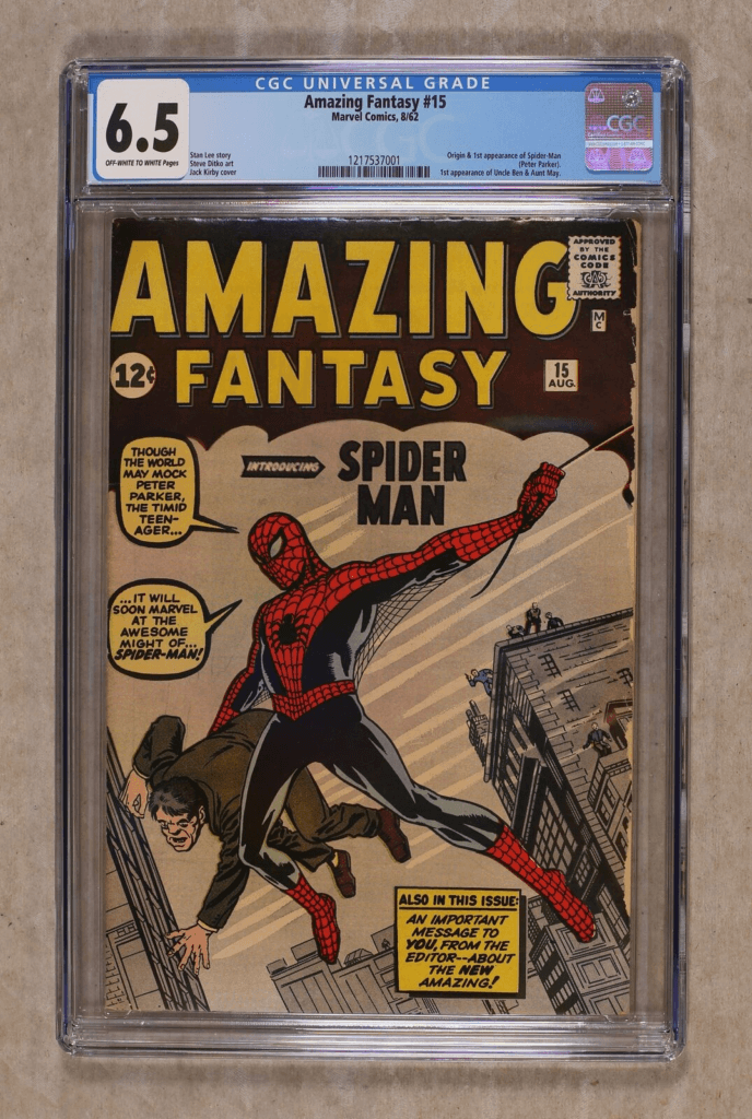 Make money selling online: Spiderman comic book