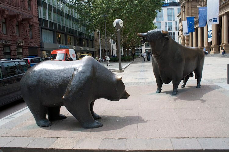 Recession proof business: Bull vs bear image taken by orb_cz (on Flickr)