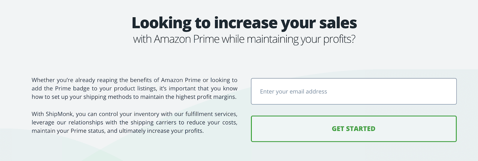 Amazon's fulfillment alternatives: Prime option