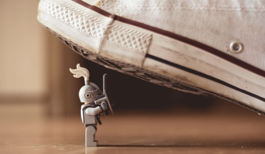 Amazon seller insurance: Image of toy knight by James Pond on Unsplash