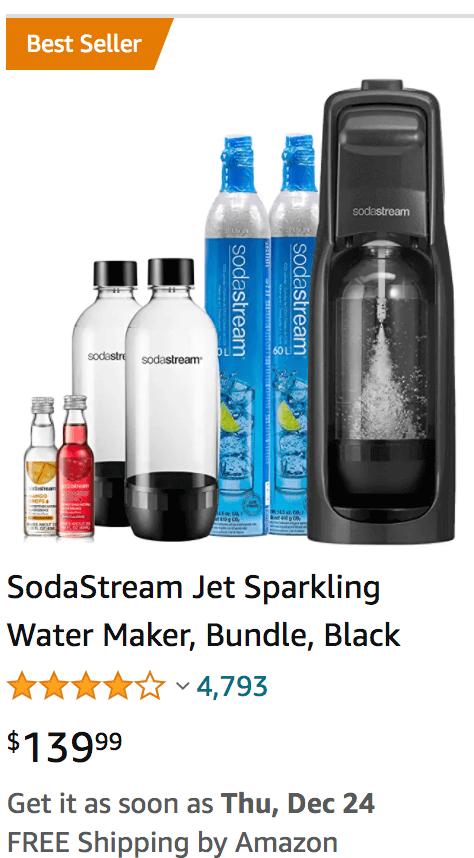Amazon product bundling example